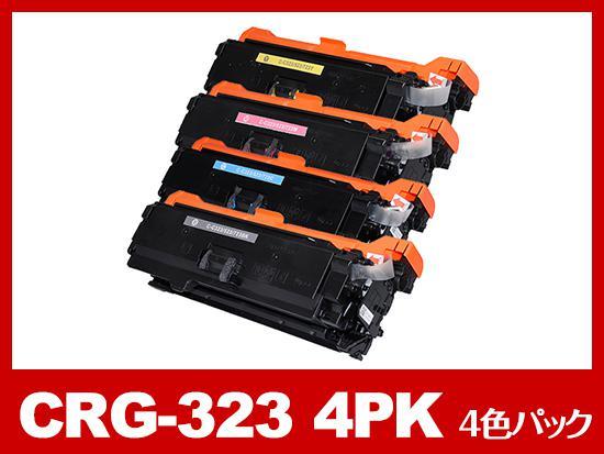 CRG-323-4PK(4色パック)キヤノン[Canon]互換トナーカートリッジ