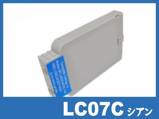 LC07C(シアン) ブラザー[brother]互換インクカートリッジ