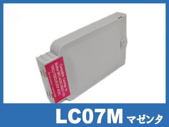 LC07M(マゼンタ) ブラザー[brother]互換インクカートリッジ