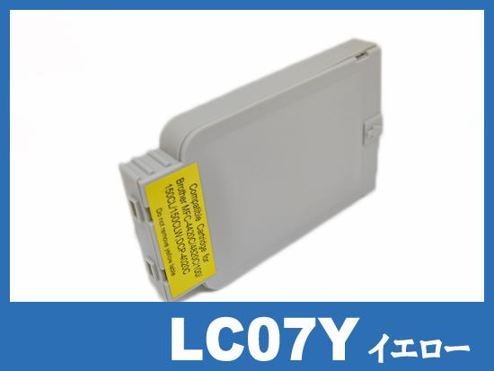 LC07Y(イエロー) ブラザー[brother]互換インクカートリッジ