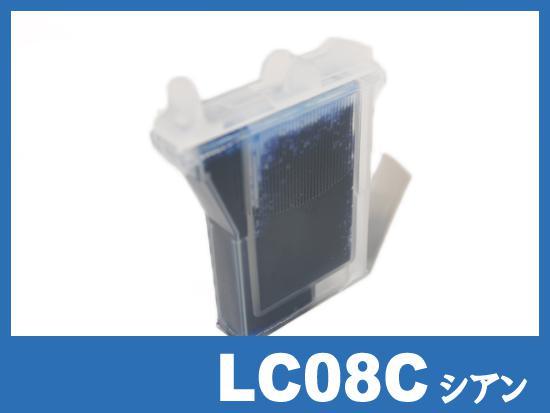 LC08C(シアン) ブラザー[brother]互換インクカートリッジ