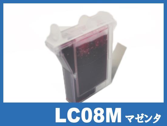 LC08M(マゼンタ) ブラザー[brother]互換インクカートリッジ