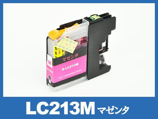 LC213M(マゼンタ)ブラザー[brother]互換インクカートリッジ