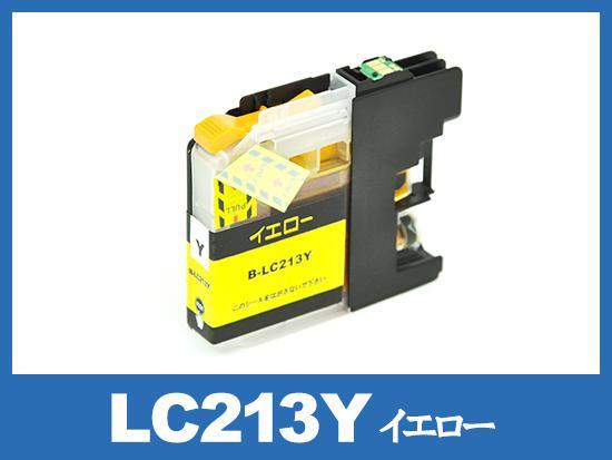 LC213Y(イエロー)ブラザー[brother]互換インクカートリッジ