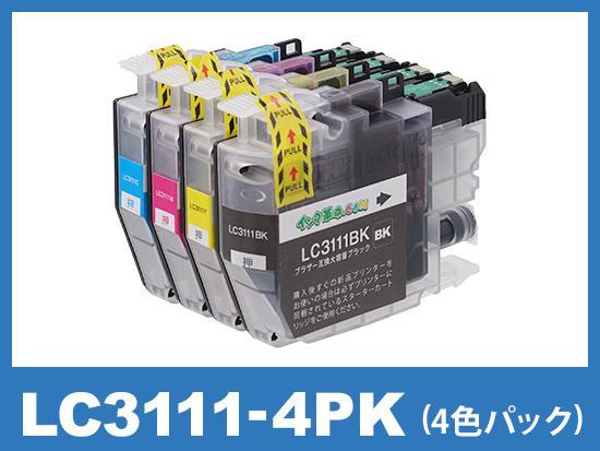 LC3111-4PK(4色パック)ブラザー[brother]互換インクカートリッジ
