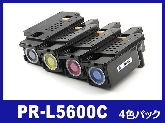 PR-L5600C(4色セット) NEC互換トナーカートリッジ