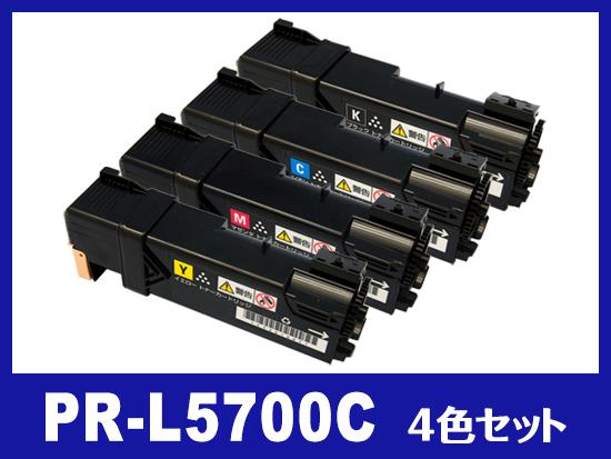 PR-L5700C(4色セット)NECリサイクルトナーカートリッジ