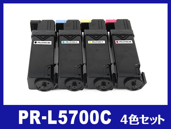 PR-L5700C(4色セット)NEC高品質互換トナーカートリッジ