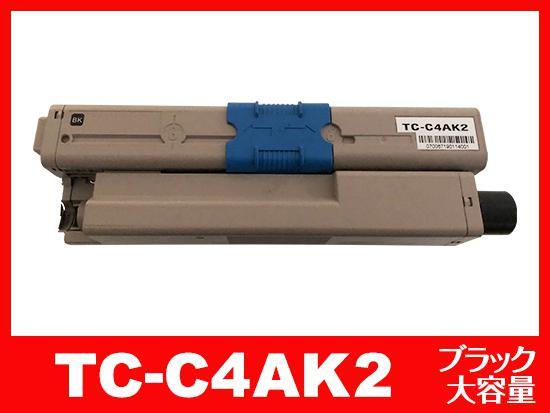TC-C4AK2(ブラック大容量)OKIリサイクルトナーカートリッジ
