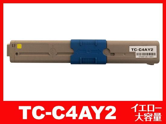TC-C4AY2(イエロー大容量)OKIリサイクルトナーカートリッジ