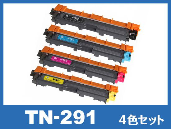TN-291(4色セット) ブラザー[Brother]互換トナーカートリッジ