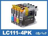 LC111-4PK(4色パック)ブラザー[brother]互換インクカートリッジ