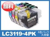 LC3119-4PK(顔料4色パック 大容量)ブラザー[brother]互換インクカートリッジ
