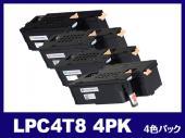 LPC4T8-4PK (4色パック) エプソン[EPSON]互換トナーカートリッジ