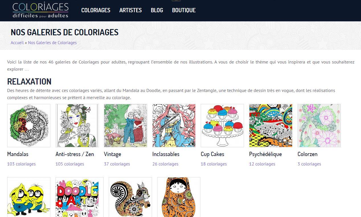 大人の塗り絵を無料ダウンロードできるcoloriagesがすごいインク