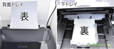 両面印刷で、紙を正しくセットする方法|インク革命.COM